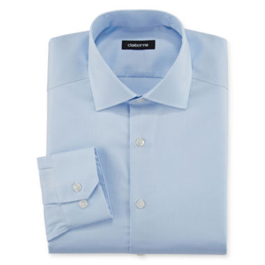 jcpenney.com | Claiborne® Wrinkle-Free Dobby Dress Shirt - Big & Tall