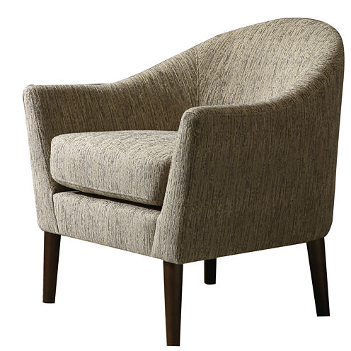 Madison Park Devon Rounded Track-Arm Chair