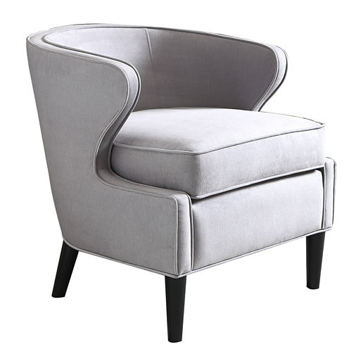 Madison Park Skyway Wide-Arm Barrel Chair