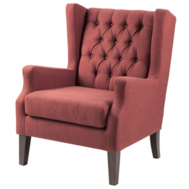 jcpenney.com | Madison Park Riddle Button-Tufted Wing Chair
