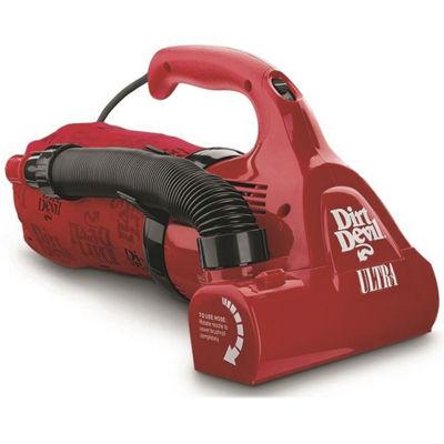 Dirt Devil 174 Ultra Corded Bagged Handheld Vacuum M08230red