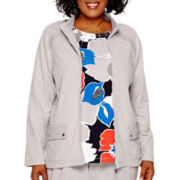 Alfred Dunner® Cape Hatteras Long-Sleeve Zip-Front Jacket - Plus