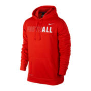 Nike® KO Fleece Football Hoodie