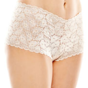 Ambrielle® Lace Cheeky Boyshorts