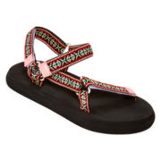 Mixit™ Self-Adhesive Strap Slide Sandals