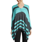 Stylus™ Convertible Poncho Sweater