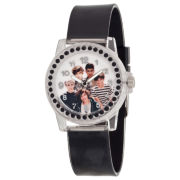One Direction Silver-Tone Stones Watch