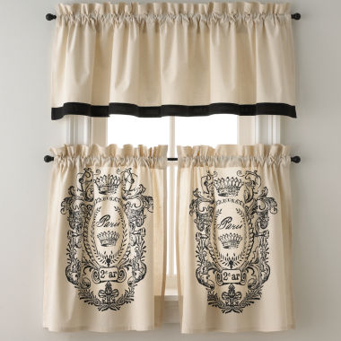 jcpenney.com | Park B. Smith® Paris Postage Rod-Pocket Window Tiers