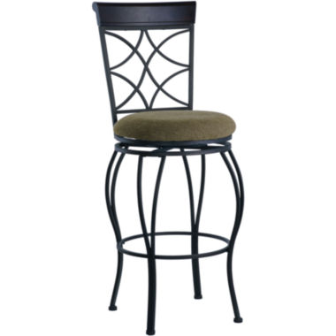 jcpenney.com | Curved-Back Swivel Barstool