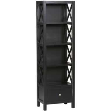 jcpenney.com | Anna Collection Tall Narrow 5-Shelf Bookcase