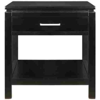 "jcpenney.com | Sutton Single-Drawer 20"" Square End Table"