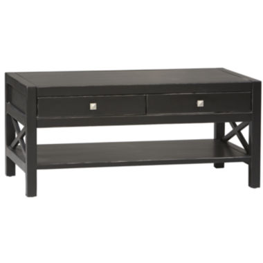 jcpenney.com | Anna 2-Drawer Rectangular Coffee Table