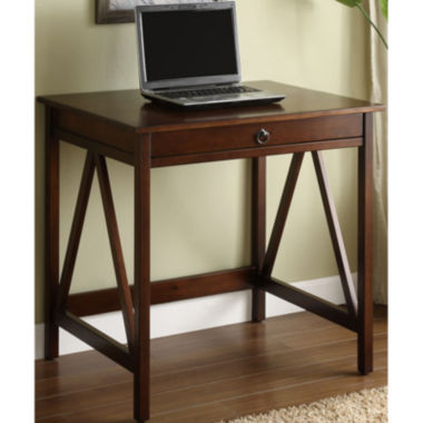 jcpenney.com | Titian Laptop Desk in Antique Tobacco