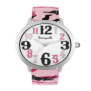 Betseyville® Womens Round Dial Camouflage Watch
