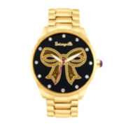 Betseyville® Womens Graphic Dial Bracelet Watch