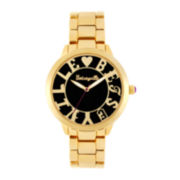 Betseyville® Womens Logo Dial Bracelet Watch