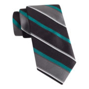 Van Heusen® Sensational Stripe Slim Silk Tie