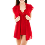 Cosmopolitan Chemise, Robe Panties Set
