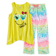 Sleep On It 2-pc. Smile Pajama Set - Girls 4-16