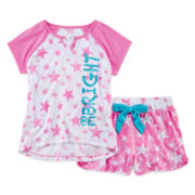 Sleep On It 2-pc. Star Pajama Set - Girls 4-16