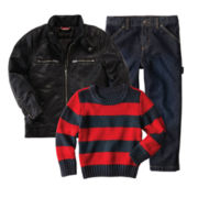 Arizona Sweater, Jeans or Moto Jacket - Boys