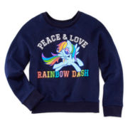 My Little Pony Long-Sleeve Peace & Love Top - Girls 7-16
