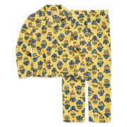 Despicable Me Minion 2-pc. Long-Sleeve Pajama Set – Boys 4-10