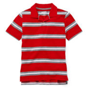 Arizona Striped Knit Polo – Boys 8-20 and Husky