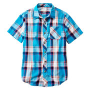 Arizona Short-Sleeve Button-Front Shirt – Boys 8-20