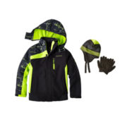 Berkshire Hat and Glove Set or Weatherproof® Jacket - Boys