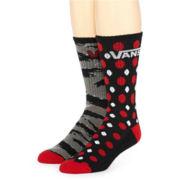 Vans® 2-pk. Apocalypse Crew Socks