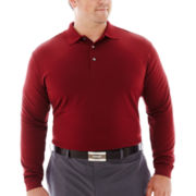 PGA TOUR® Long-Sleeve Lightweight Polo–Big & Tall