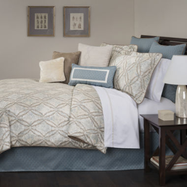jcpenney.com | Marquis by Waterford® Doral 4-pc. Comforter Set