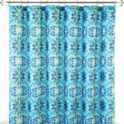 JCPenney Home™ Watercolor Tile Shower Curtain