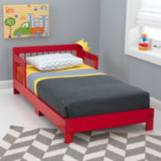 KidKraft® Houston Toddler Bed – Red