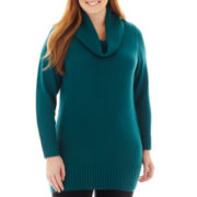 Alyx® Long-Sleeve Cowlneck Tunic Sweater
