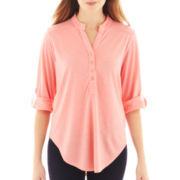 Almost Famous Henley Top