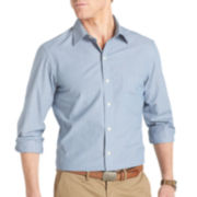 IZOD® Long-Sleeve Micro Stripe Shirt