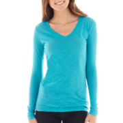 Arizona Long-Sleeve V-Neck Tee