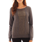 MNG by Mango® Long-Sleeve Sweater with Bow Detail