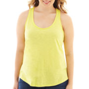 Arizona Crochet-Back Tank Top - Plus
