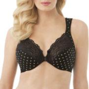 Glamorise® Elegance Front-Close Underwire Bra - 1245