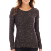 a.n.a® Long-Sleeve Sequin Pullover Sweater