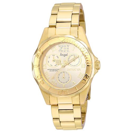 Invicta Womens Gold Tone Bracelet Watch-21697