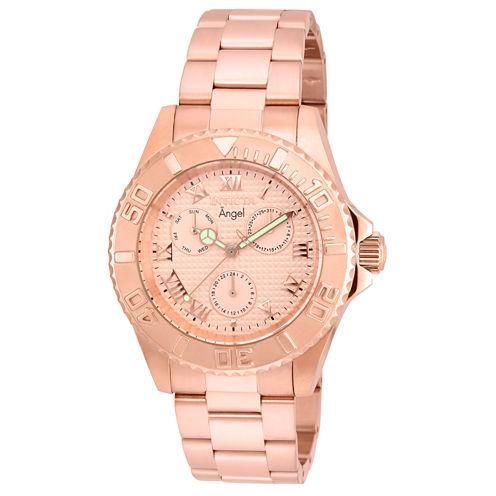 Invicta Womens Gold Tone Bracelet Watch-17525