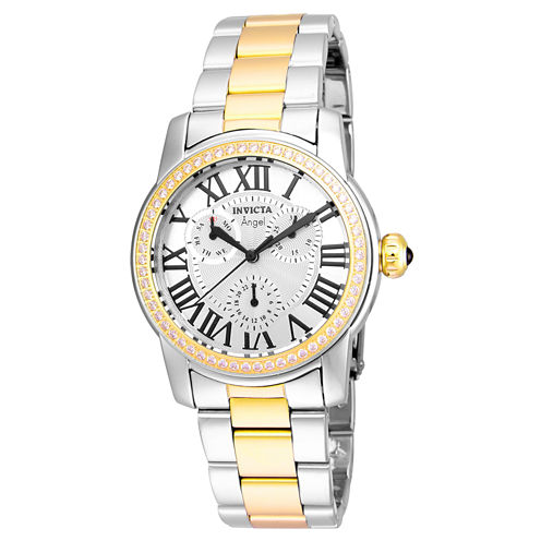 Invicta Womens Two Tone Bracelet Watch-21707