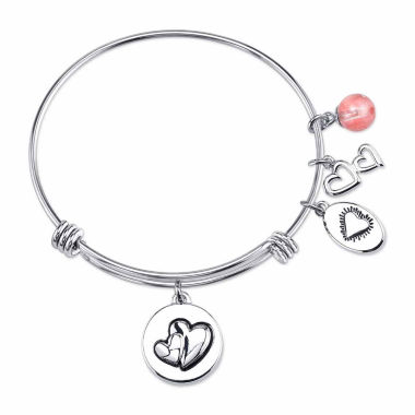 jcpenney.com | Footnotes Too Stainless Steel Bangle Bracelet