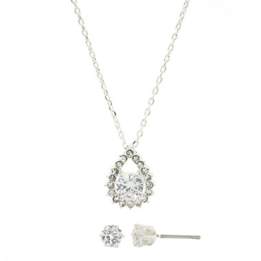 jcpenney.com | Sparkle Allure Cubic Zirconia Pendant Necklace