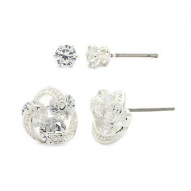 jcpenney.com | Sparkle Allure Cubic Zirconia Stud Earrings