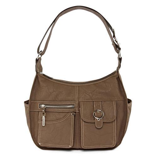 Rosetti Riveting Seams Hobo Bag - JCPenney